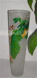 Hand Painted Flower Vases / Glass Vases
