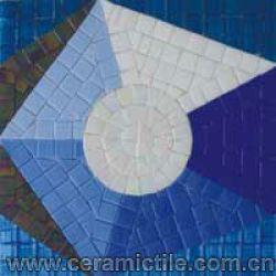 Glass Mosaic Floor Tile, Glass Mosaic Wall Tile