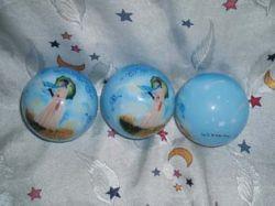 Hand Painted Christmas Ball,painted Glass Ball