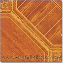 Wood Look Glazed Ceramic Tile, Wood Like Tile