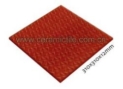 Split Unglazed Floor Tile, Unglazed Tile
