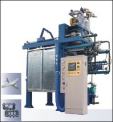Eps/epp/epe Vacuum Shape Molding Machine