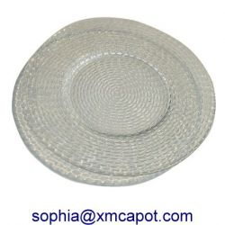 Glass Plate, Glassware, Glass Dinner Plate