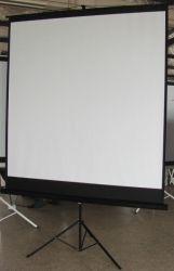 Tripod Projector Screen Of Audiovisual Conference