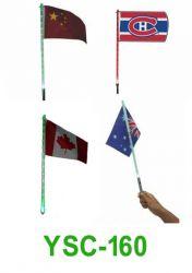 Offer Solar Light Flag(fluorescent Flag)