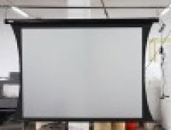 Electric Tab-tension Projection Screen