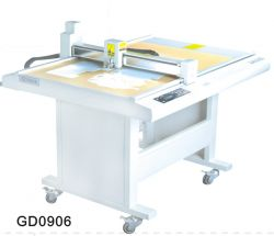 Gd0906 Paper Box Die Cut Plotter Sample Flat Bed
