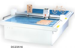 Dcz2516 Carton Box Die Cut Plotter Sample Flat Bed