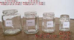 Glass Honey And Jam Jar