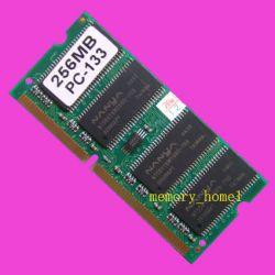 256mb Pc133 144pin Sdram High Density Laptop Ram