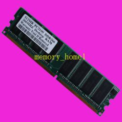 512mb Ddr266 Pc2100 184pin Desktop Memory