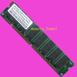 256mb Pc133 168pin Sdram Low Density Desktop Ram