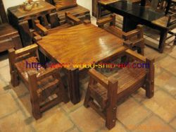 Old Ship Wooden Furniture-tea Table