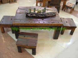 Old Ship Wooden Furniture-end Table