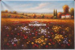 Tuscan Art Oil Painting