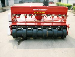 Rototiller And Fertilizer Seeder