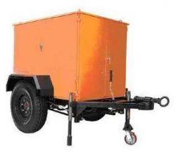 Portable Moible Transformer Oil Filtration Plant