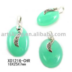 Gemstone Pendants With 925 Silver
