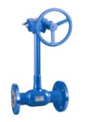 Long Stem Welded Ball Valve With Flange End