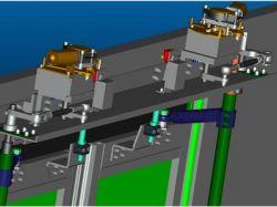 Electrical Slide Glide Bus Door System/mechanism