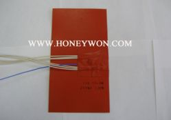 Silicone Rubber Heater With K Type Thermocouple
