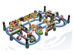 Inflatable Race Track/inflatable Racing Track/infl