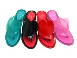 Pvc Lady's Slippers,slippers,jelly Shoes,