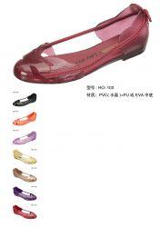 Pvc Lady's Sandals,sandals,jelly Sandals