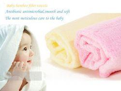 Sell Baby Bamboo Fiber Towel - Baby Bath Washcloth