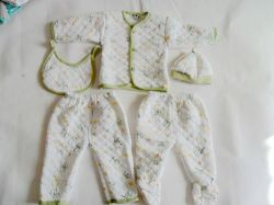 Sell Thick Thermal Underwear Baby Cotton Five Part