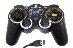Pc Wired Vibration Game Controller (u-90