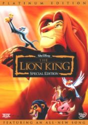 The Lion King 1 Dvd