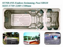Best Selling,endless Swimming Pool Sr820