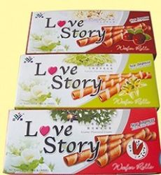 Love Story  Egg Roll