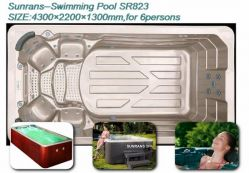 Small But Luxury Spa Pool Sr823