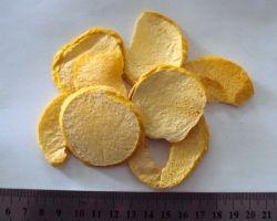 Low Fat Healthy Snacks Freeze Dried Peach