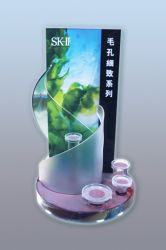Acrylic Comestic Display Stands
