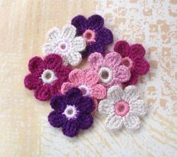 Hand Crochet Flower