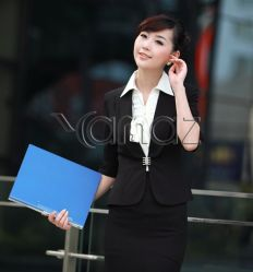 Professional Female Skirt Suits Fair Maiden Outfit