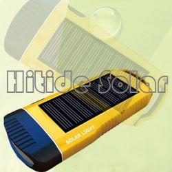 Mini Solar Flashlight With Led