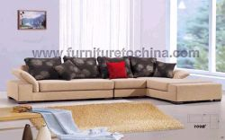 Modern Sectional Sofa, Fabric Leisure Corner Sofa