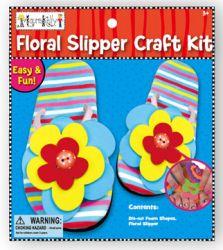 Floral Slipper
