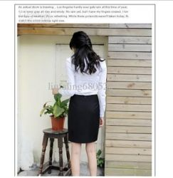 Of White Cotton Long Sleeve Shirt ~ 63480