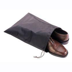 Black Travel Shoe Bag