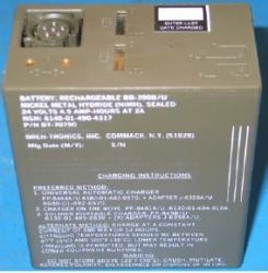 Nickel Hydride Military Battery Bb-390 B/u