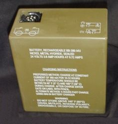 Nickel Hydirde Military Battery Bb390/u