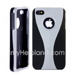 Hard Case For Iphone 4 4g(silver/black),(10046016)