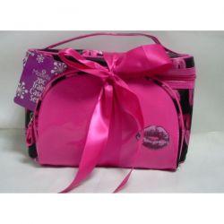 Satin Cosmetic Bags