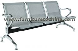 Lobby Metal Waiting Chair, Aiport Reception Seat