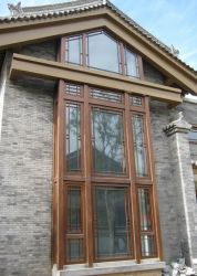 Solid Wood Window And Door